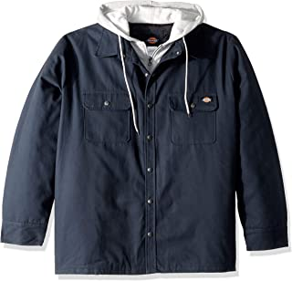 Best dickies relaxed fit icon hooded quilted shirt jacket Reviews