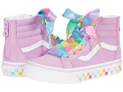 Vans Kids Sk8-Hi Zip (Little Kid) ( Girls Shoes