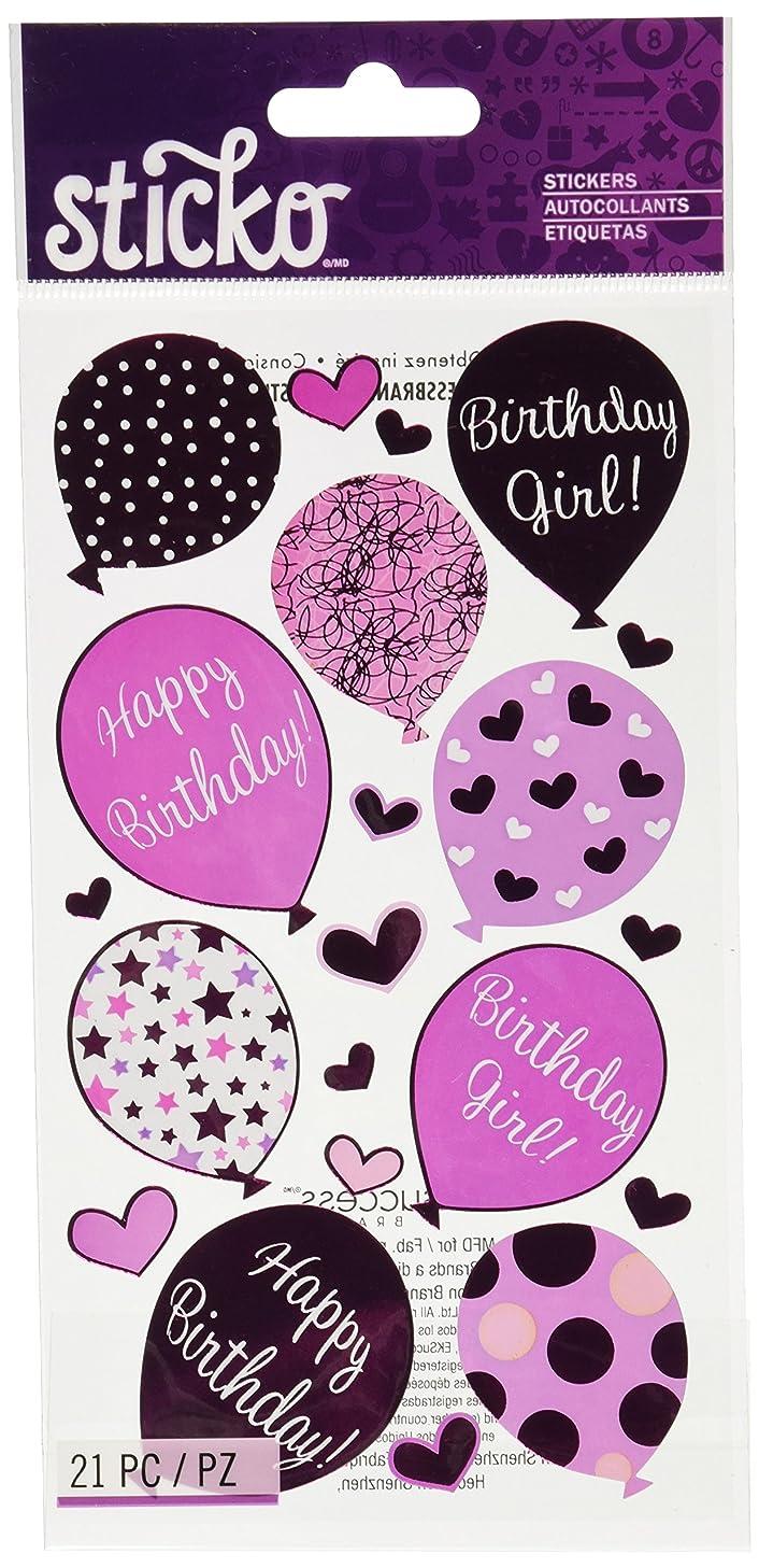Sticko E5200710EK Success Birthday Girl Stickers