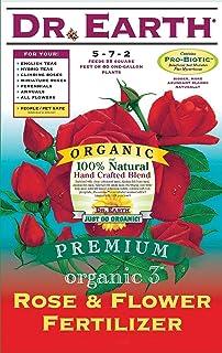 Dr. Earth 709 Organic 3 Rose & Flower Fertilizer, 12-Pound