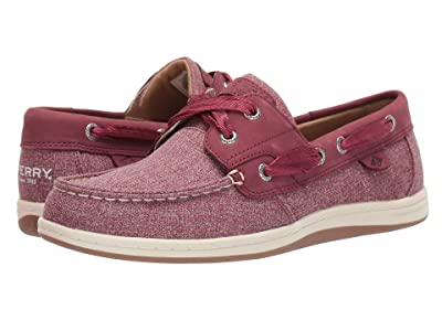 Sperry Koifish Sparkle Chambray (Burgundy) Women