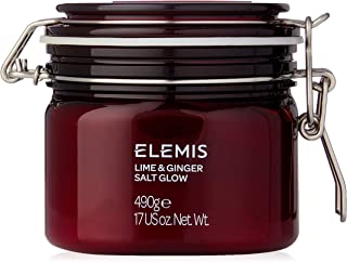ELEMIS Lime and Ginger Salt Glow, Invigorating Salt Scrub, 17 Ounce, Pack of 1
