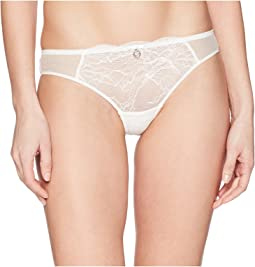 Brazilian Brief in Lace with Tulle Insets