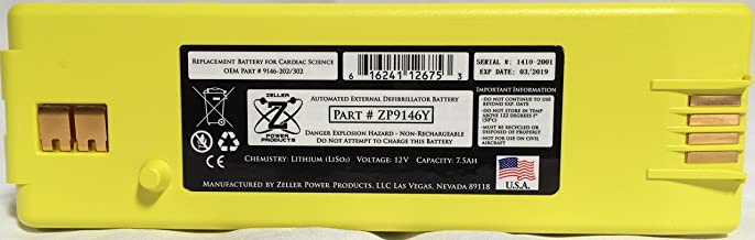 powerheart aed g3 battery 9146 102