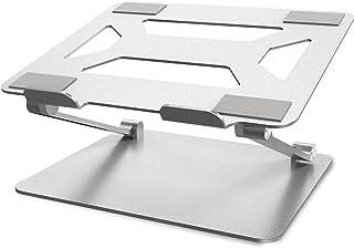 Soundance Adjustable Laptop Stand, Aluminum Computer Riser, Portable Ergonomic Elevator for Desk, Metal Holder Compatible ...