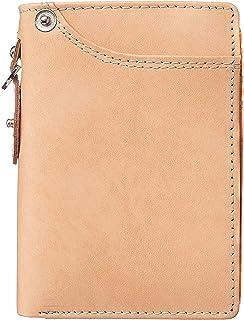 [BlissLeather] [一流のドイツ製ボンデッドレザー]高級 二つ折り 短財布 ミニ財布 YKK 大容量
