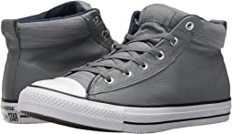 Converse - Chuck Taylor® All Star® High Street Leather w/ Fleece Mid