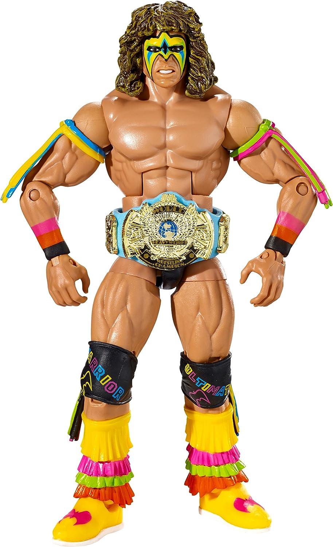WWE Wrestling Elite Collection Hall of Fame Ultimate Warrior 6 Action Figure