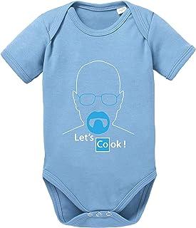 Sambosa Lets Cook Baby Breaking Strampler Walther Bio Bad Baumwolle White Body Jungen & Mädchen 0-12 Monate