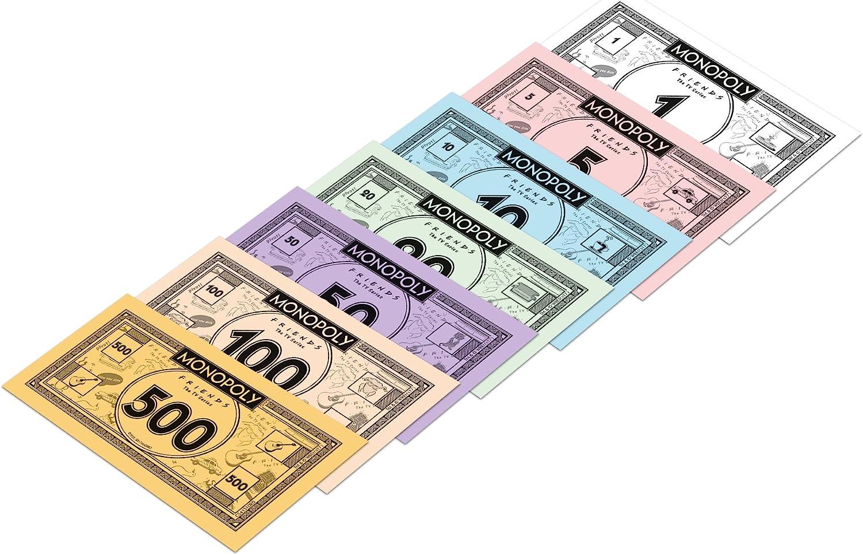 Winning Moves Monopoly, englische Ausgabe Freunde