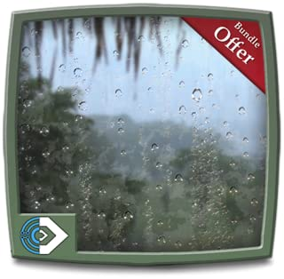 Jungle Rainy Drops - Feel the Romantic Rainy View on Your Fire TV & Kindlefire Screen