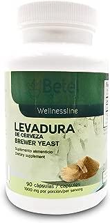 Levadura de Cerveza 90 Caps - Brewer's Yeast 90 Caps