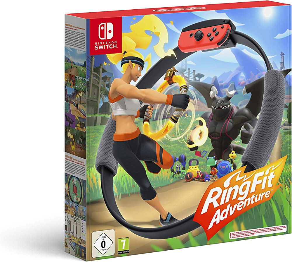 Nintendo switch ring fit adventure  switch 10001996