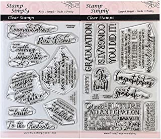 Best graduation stamps for card making Reviews