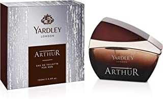 Yardley Arthur Eau de Toilette, classic aromatic refreshing scent, formal fragrance, 100 ml