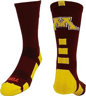 Minnesota Golden Gophers Baseline Crew Socks
