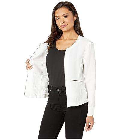 NIC+ZOE Front Runner Zip Jacket (Paper White) Women