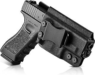 FireFit IWB KYDEX Holster for Pistol,Inside Waistband Concealed Carry for Men Women,Adj. Cant & Posi-Click Retention