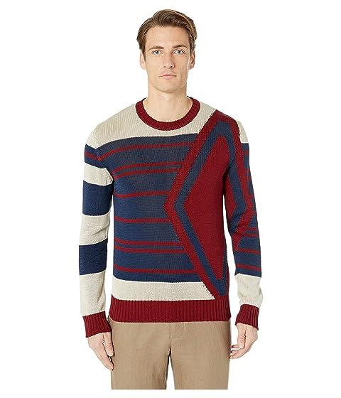 Etro Intarsia Crew Neck Sweater