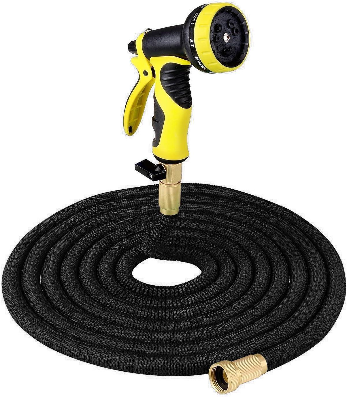 50FT Garden Hose Flexibal Expanding Portable 定価 Expandab Water まとめ買い特価