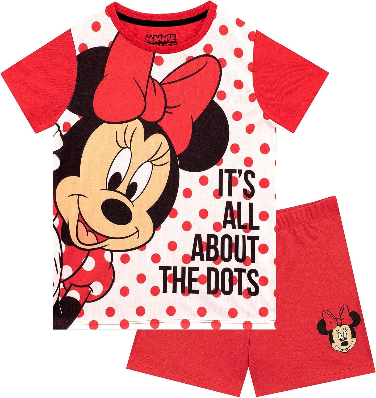 Disney Girls' Short Pajamas Minnie Mouse