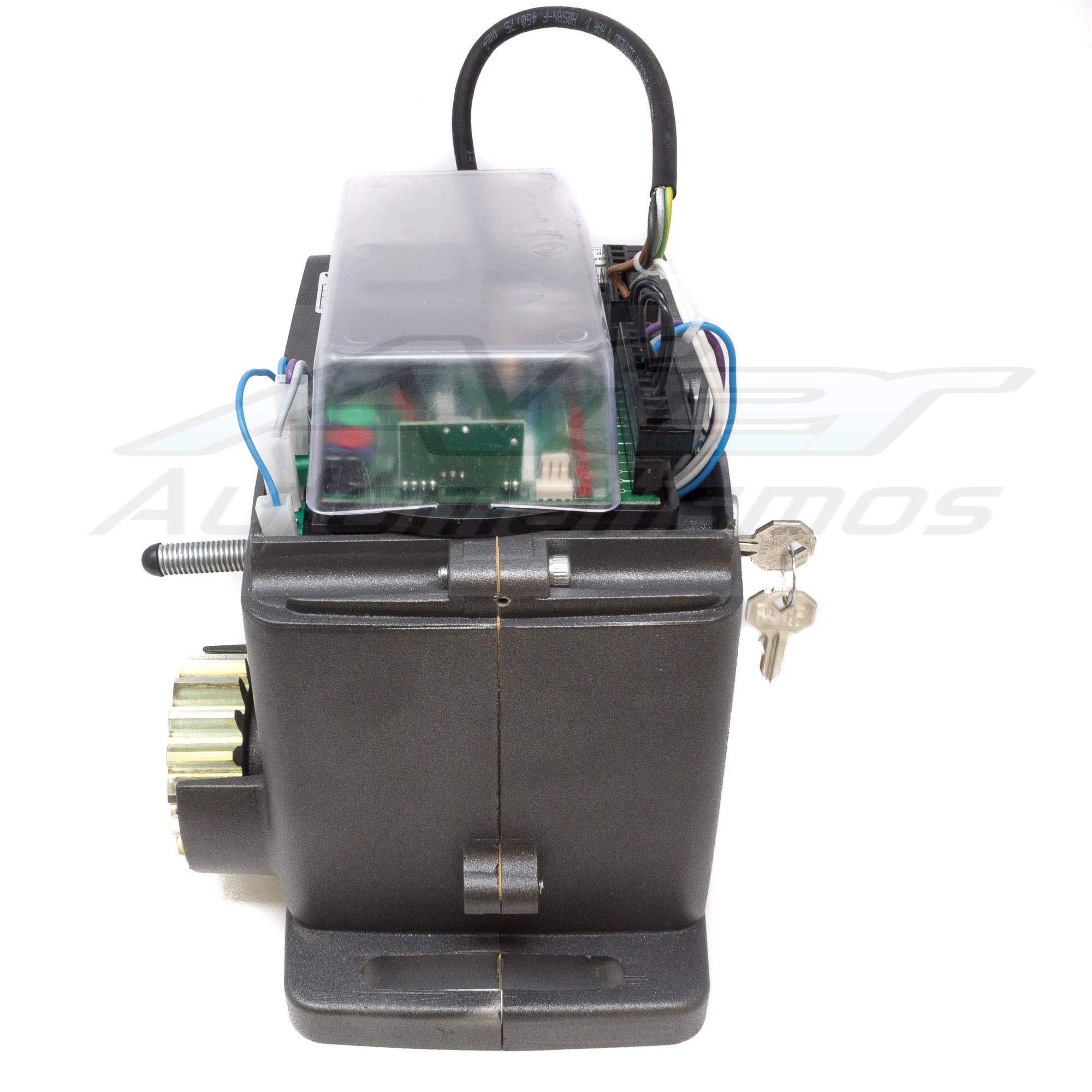 Kit motor para automatizar tu puerta de garaje o cancela corredera ...