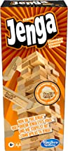 Hasbro Jenga Classic, children's game that promotes the speed of reaction, from 6 years