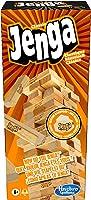هاسبرو جينغا كلاسيك، لعبة للاطفال تعزز سرعة ردود افعالهم، لاعبان فاكثر، 54 قالب جينغا من الخشب الصلب