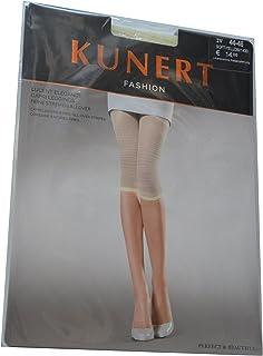 KUNERT Lucent Elegance Damen-Capri Leggings Farbe: Soft-Yellow Gr. IV 44-46 Capri Leggings mit feinen Streifen für schöne Beine