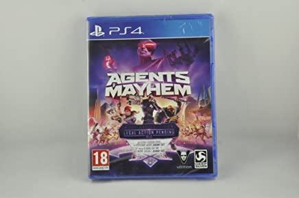 PS4 AGENTS OF MAYHEM DAY ONE EDITION (FRA)