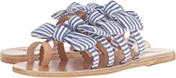 Stripes Blue Vachetta/Print Cotton