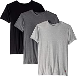 Slim Fit w/ Wicking 3-Pack Crews