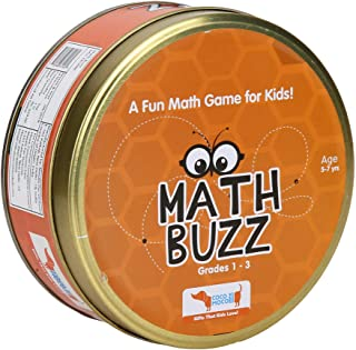 Math Buzz – Maths Game for Kids Educational Toy for Learning Addition, Subtraction, Multiplication and Division, STEM Puzz...