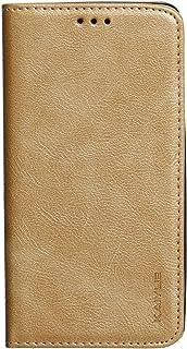 جراب محفظة جلدية قلاب من كايوي لموبايل انفنكس هوت 4 X557 - ذهبي