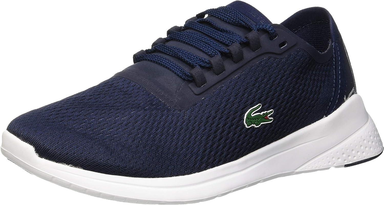 Lacoste Men's LT Fit 119 1 Textile Trainers, bluee