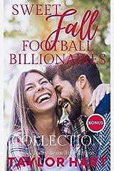 Sweet Fall Football Billionaire Collection: 6 Sweet, Christian Romances Kindle Edition