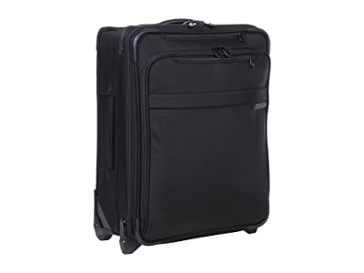 Briggs & Riley Baseline International Carry-On Wide Body Upright (Black) Carry on Luggage