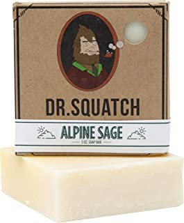 Alpine Sage Soap for Men – Revitalizing Natural Scent with Cypress, Lavender, Clary..