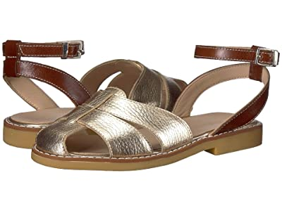 Elephantito Vali Sandal (Toddler/Little Kid/Big Kid) (Gold) Girls Shoes