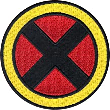 Wolverine Superhero Logo Iron on Applique Patch 3 inch Marvel Comics X-Men