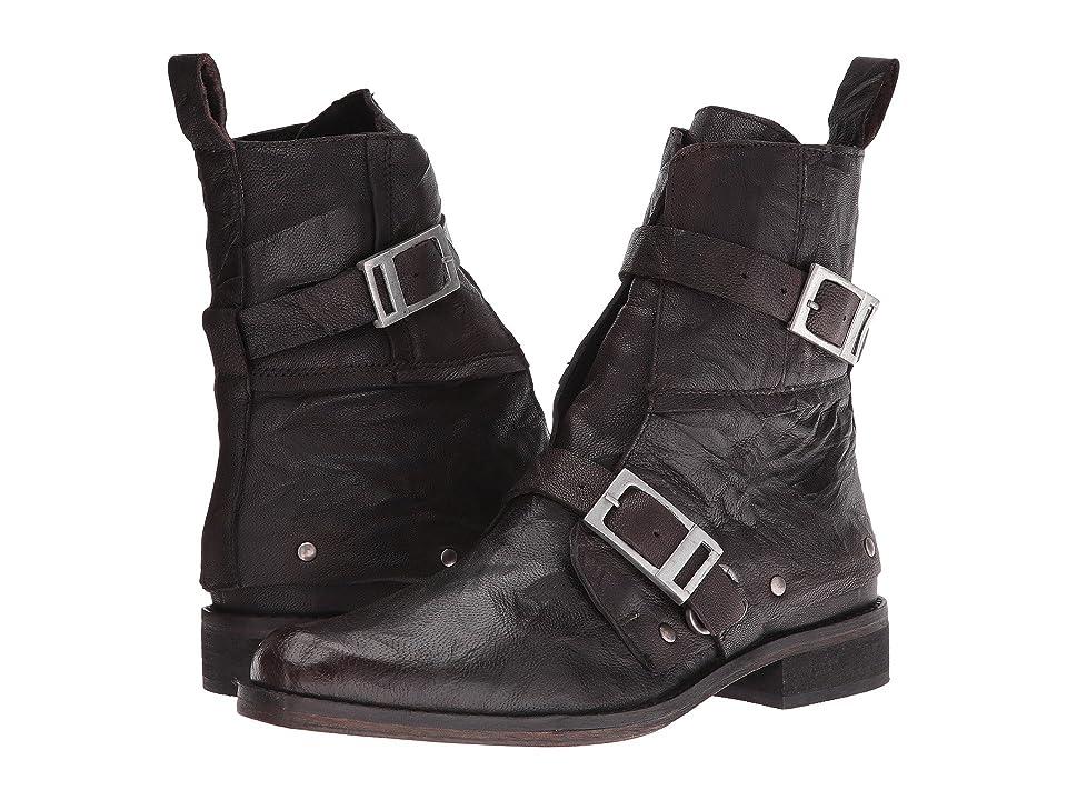 Free People Outsiders Moto Boot (Black) Women