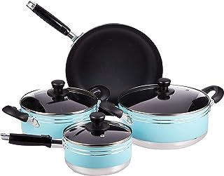 Flamingo Cookware Set, Multi-Colour, FL6507CWST, 7 Pieces