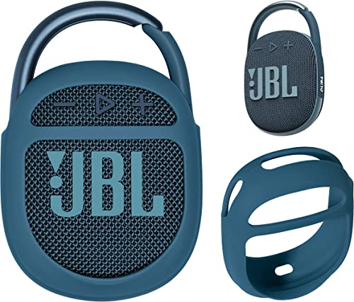 getgear Silicone Cover Compatible with JBL Clip 4 Portable Speaker(Blue)