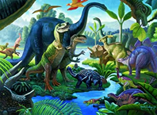 Ravensburger Land of The Giants - 100 Piece Jigsaw Puzzle for Kids – Every Piece is Unique, Pieces Fit Together Perfectly,...