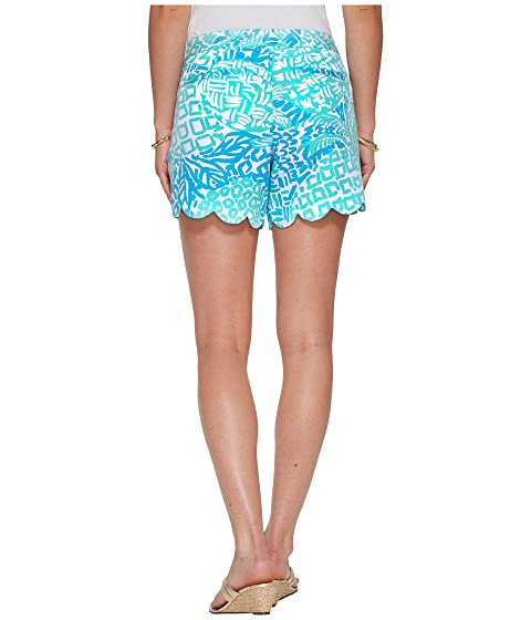 Home Slice Lilly Pulitzer Aqua Shorts Buttercup Seaside XY6RqX