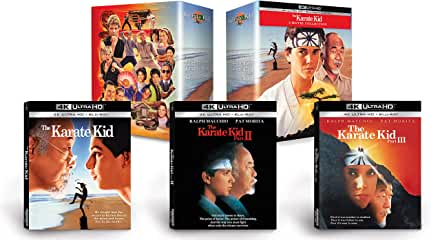 The Karate Kid Collection Limited Edition arrives on 4K Ultra HD December 7 from Sony Pictures