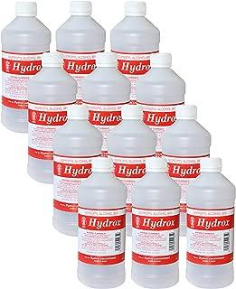 Hydrox 99% Isopropyl Alcohol, 16 oz. (case of 12)