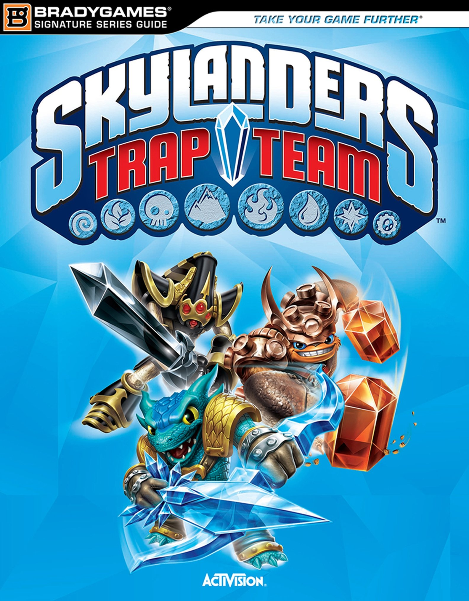 Image OfSkylanders Trap Team Signature Series Strategy Guide (Bradygames Signature Guides) (English Edition)