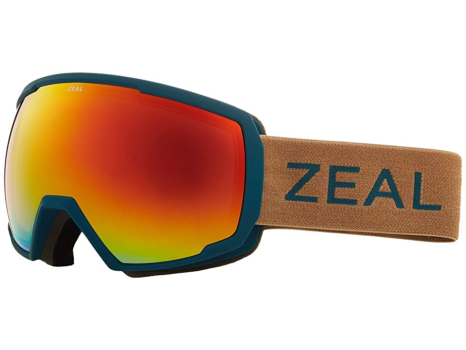 Zeal Optics Nomad (Turquoise Clay w/ Phoenix Mirror Lens) Snow Goggles