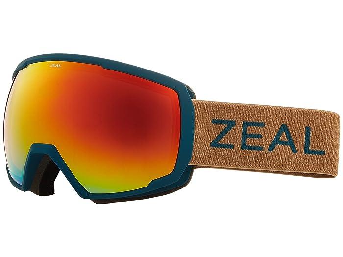 Zeal Optics Nomad (Turquoise Clay w/ Phoenix Mirror Lens) Snow Goggles